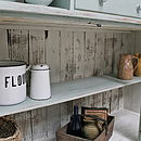 Rustic Painted Pine Country Dresser