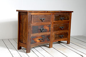 Rustica Upcycled Chest Of Drawers - chests of drawers