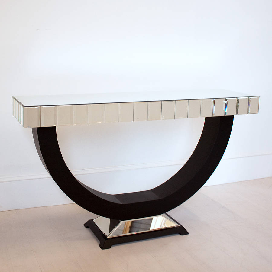 art deco console table by out there interiors | notonthehighstreet.com