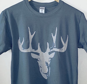 Stag T Shirt - fit for a gentleman