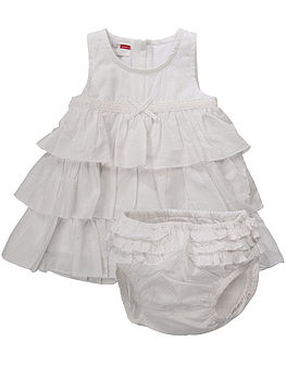 Newborn Girl's Harmonie Spencer Dress