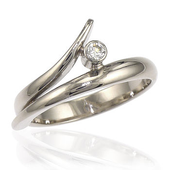 Eco Friendly Diamond Engagement Ring