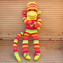 Yellow Sock Monkey