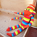Orange Sock Monkey