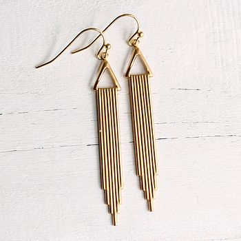 Deco Skyscraper Earrings