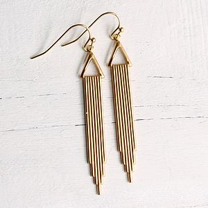 Art Deco Earrings - art deco wedding style