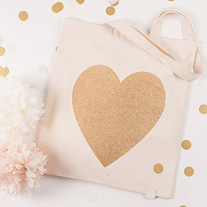 Heart Tote Bag - wedding fashion