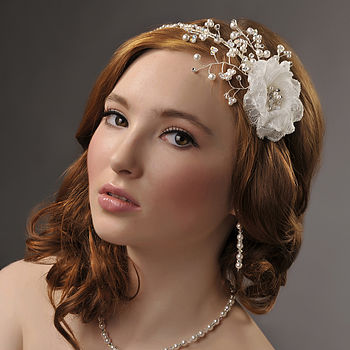 Handmade Anna Wedding Headpiece