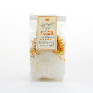 Bottled Sunshine Bath Salts - washing & bathing