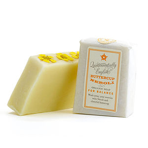 Buttercup And Neroli Soap - washing & bathing