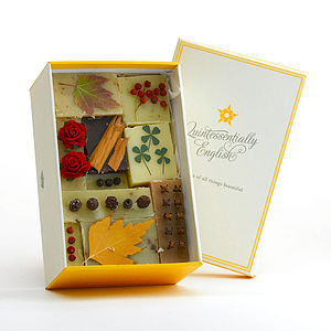 Organic Artisan Soap Gift Box - beauty & pampering