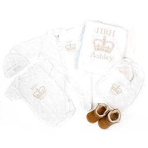 Personalised 'HRH' Six Piece Gift Set - for her