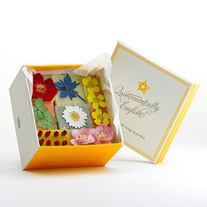 Summer Bloom Organic Soap Gift Box - washing & bathing