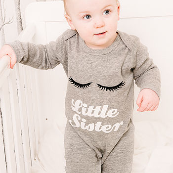 'Little Sister' Romper