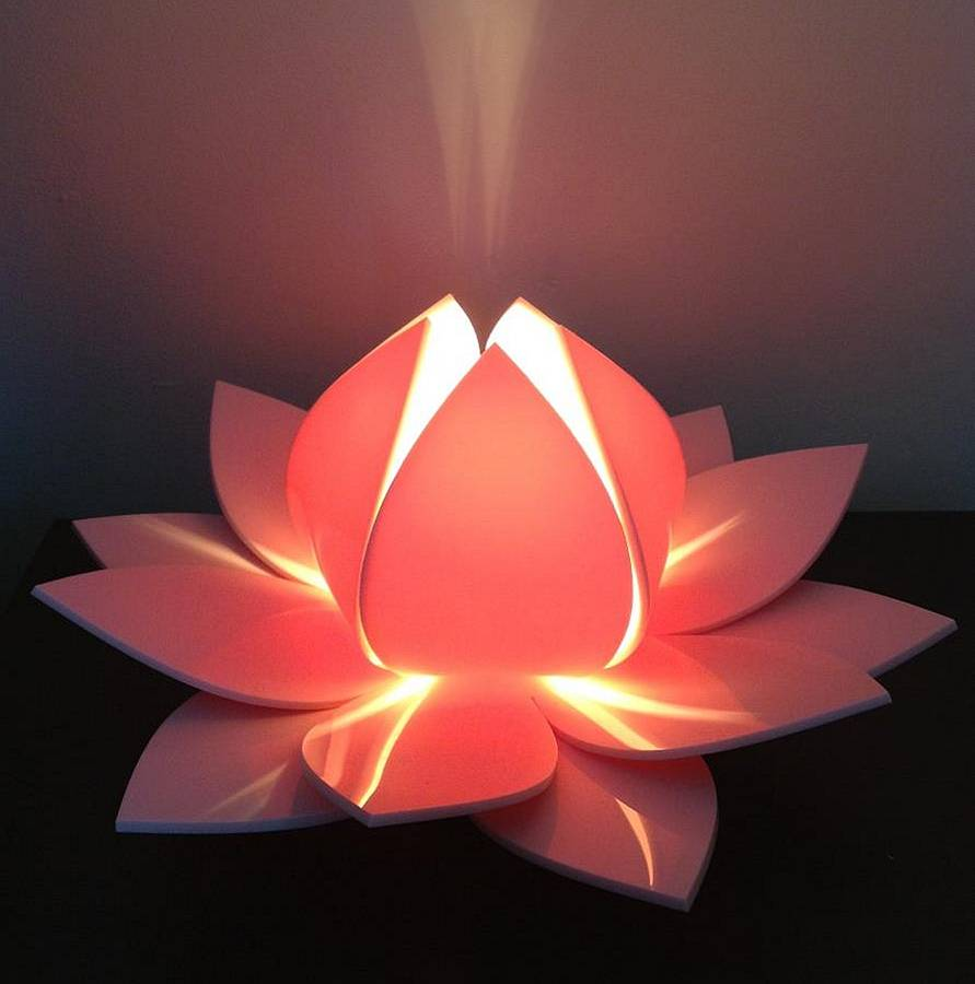 Lotus Flower Table L& Bedside L& By Kirsty Shaw & Lotus Lighting - Democraciaejustica