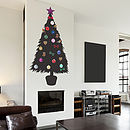 DIY Christmas Tree Wall Sticker