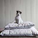 Bertie Print Dog Bed