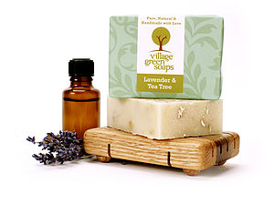 Lavender And Tea Tree Soap - bath & body