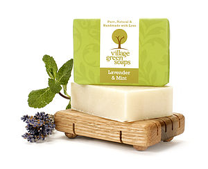 Lavender And Mint Soap - bath & body