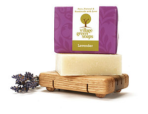 Lavender Soap - bathroom