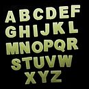 Glow In The Dark Letters And Shape Stickers