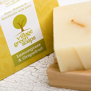 Lemongrass And Grapefruit Soap - bath & body