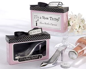 'It's A Shoe Thing!' Shoe Bottle Opener - wedding favours