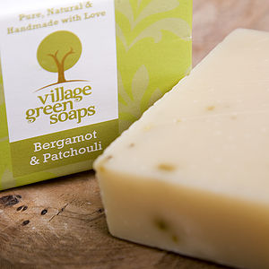 Bergamot And Patchouli Soap - bathroom