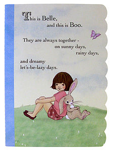 Belle & Boo Exercise Book