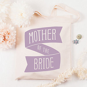 'Mother Of The Bride' Tote Bag - wedding thank you gifts