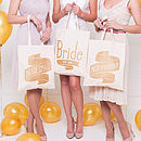 'Bridesmaid' Tote Bag
