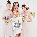 'Bride To Be' Tote Bag