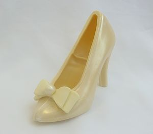 Large Shoe Wedding Satin Bow