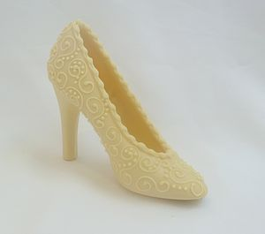Large Shoe Wedding Paisley