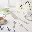 Cake Slice,Tea Spoon & Cake Fork