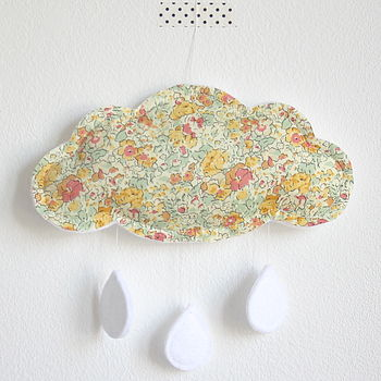 Liberty Cloud Nursery Mobile, Yellow Floral
