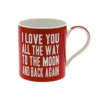 'Love You To The Moon And Back Mug