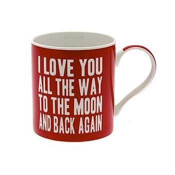 'Love You To The Moon And Back Mug