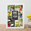 'Daddy And Me' Personalised Photo Print
