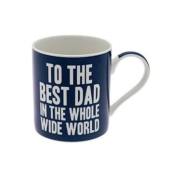 'Best Dad In The World' Father's Day Mug
