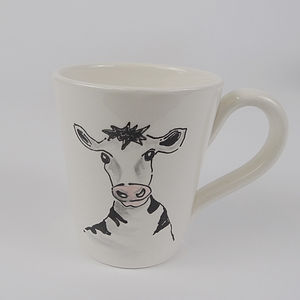 Personalised Cow Mug - mugs