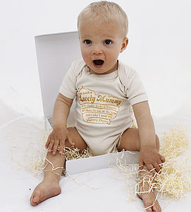 Yummy Mummy Organic New Baby Gift - babygrows