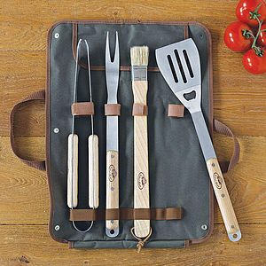 Barbecue Tool Set - summer garden