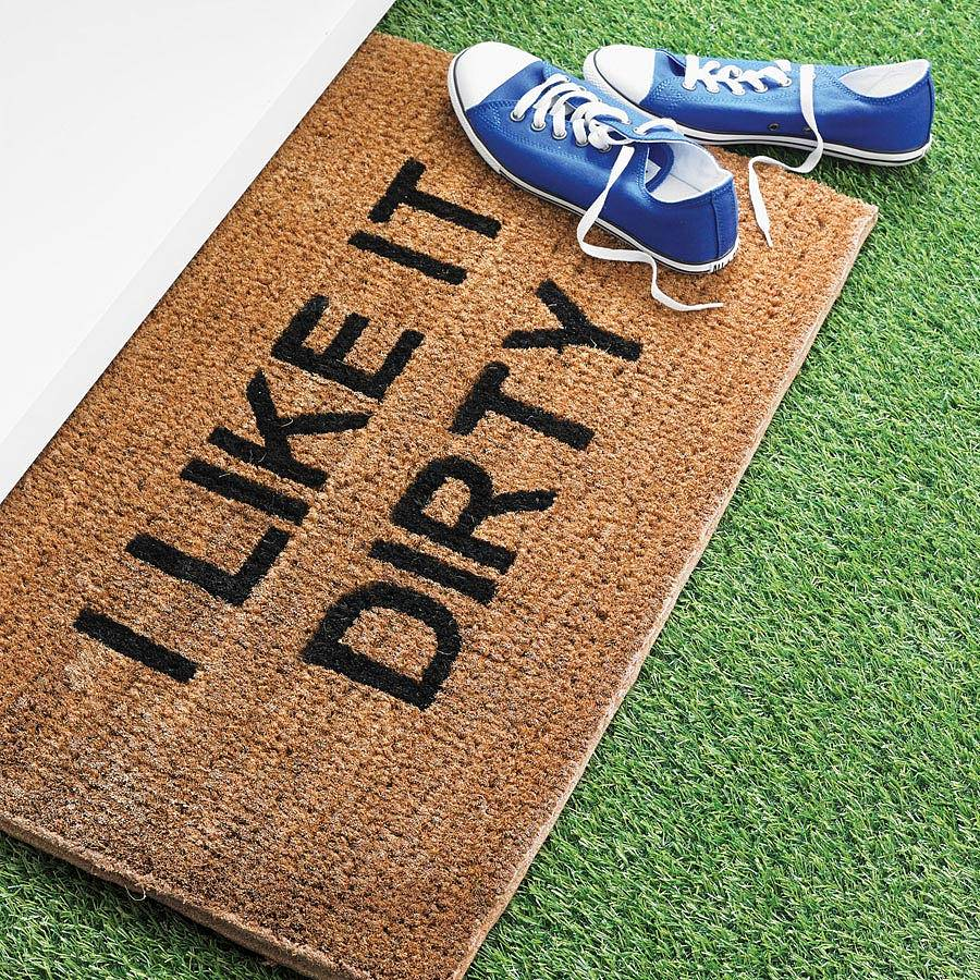 personalised doormat by letteroom | notonthehighstreet.com