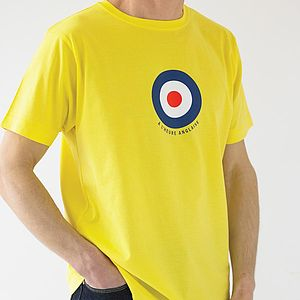 Wiggo Mod T Shirt - gifts for cyclists
