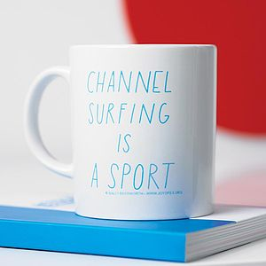 'Channel Surfing' Mug - gifts for him