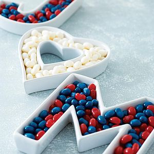 Ceramic Letter Dish - table decorations