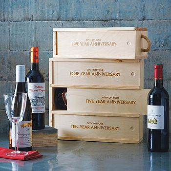Fine Wine Wedding Gift Box