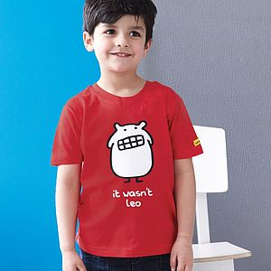 Personalised Boy's Monster T Shirt - gifts under £25