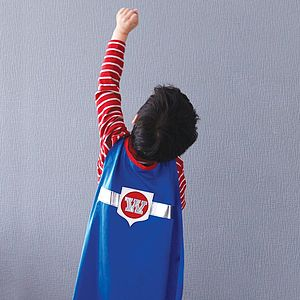 Superhero Star Cape - baby & child